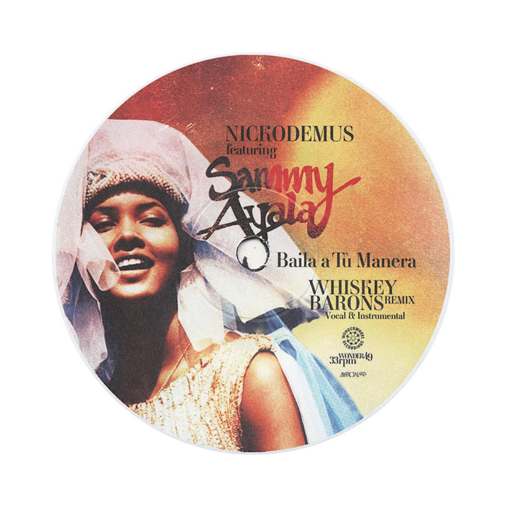 "<!--2013061145-->Nickodemus - 'Baila A Tu Manera (Whiskey Barons Remix)' [(Black) 7"" Vinyl Single]"