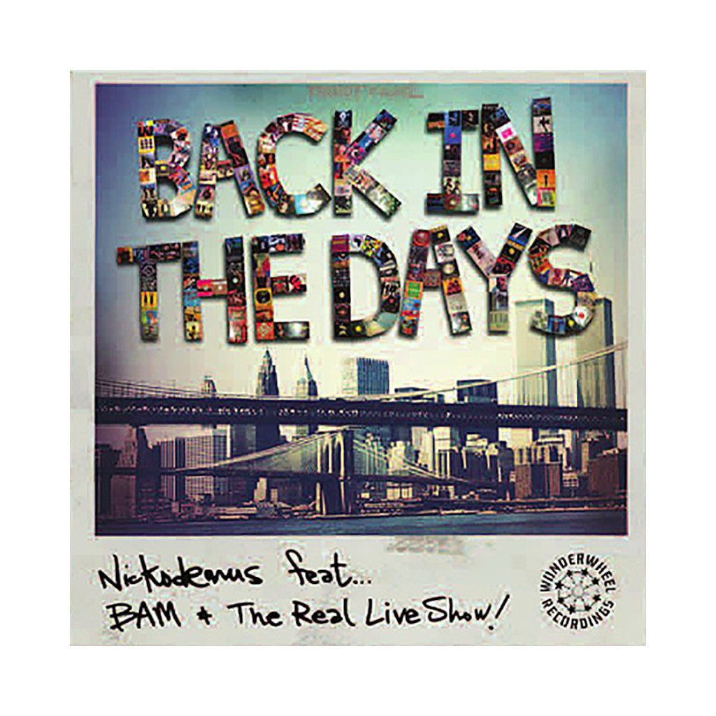 "<!--120140422062456-->Nickodemus - 'Back In The Days/ The 303 Scenario/ Back In The Days (Remix)' [(Black) 12"" Vinyl Single]"