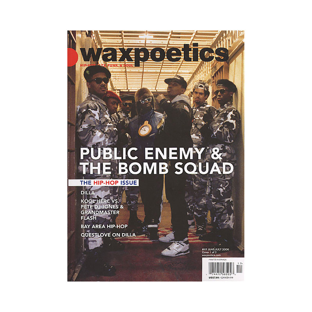 <!--020060711000107-->Wax Poetics - 'Issue 17,  June/ July 2006' [Magazine]