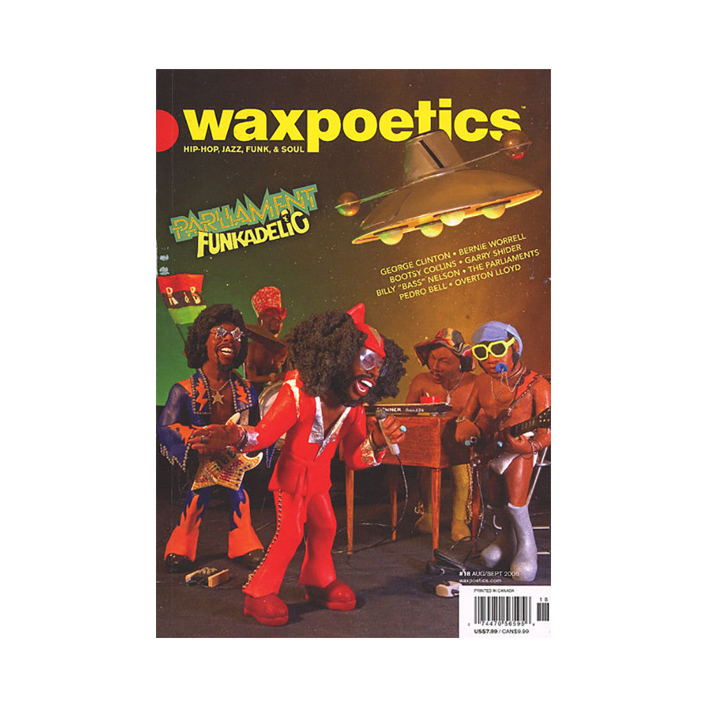 <!--020060822000106-->Wax Poetics - 'Issue 18, August/ September 2006' [Magazine]