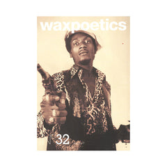 Wax Poetics - 'Issue 32, December 2008/ January 2009 (BLACK & WHITE COVER)' [Magazine]