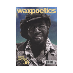 <!--020091117018988-->Wax Poetics - 'Issue 38, November/ December 2009 (BLUE COVER)' [Magazine]