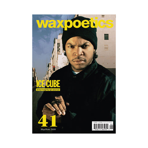 Wax Poetics - 'Issue 41, May/ June 2010 (WEST COVER)' [Magazine]