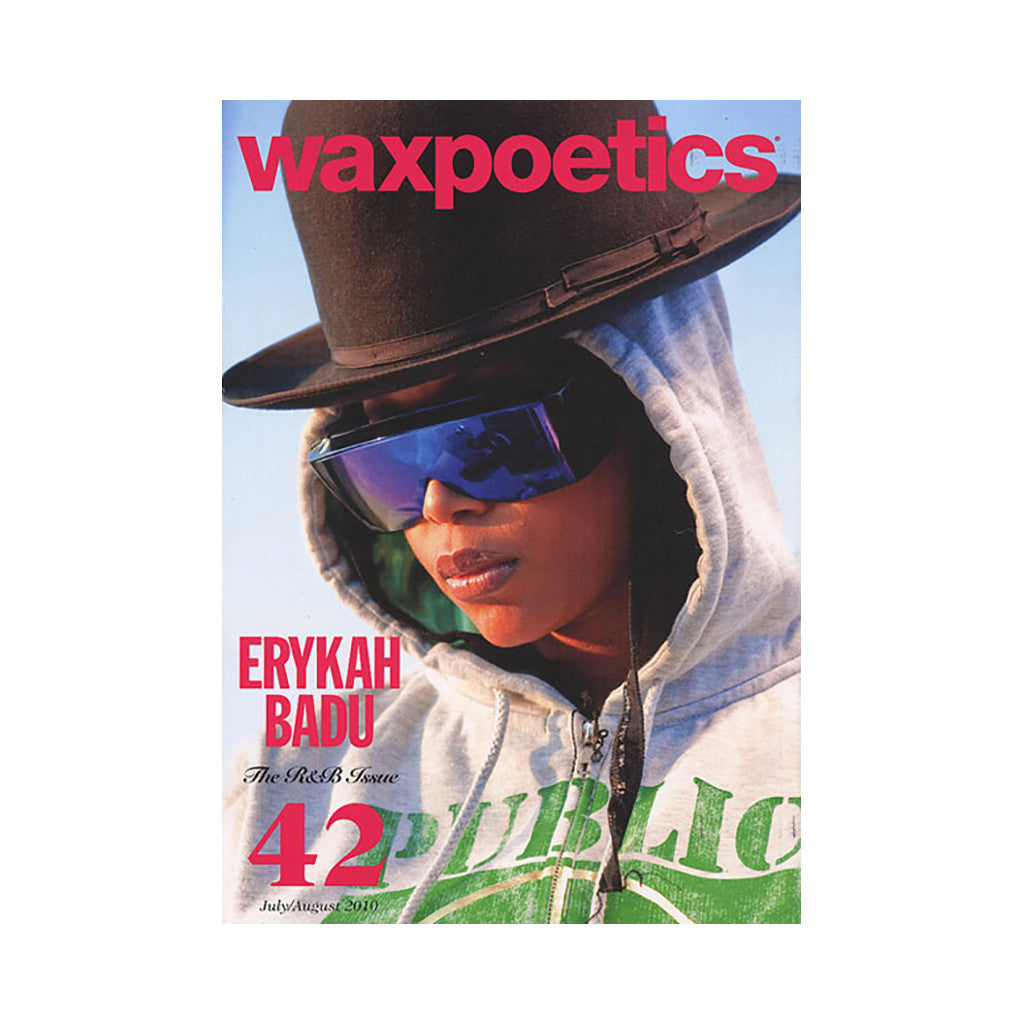 <!--020100803022563-->Wax Poetics - 'Issue 42, July/ August 2010 (GIL SCOTT-HERON/ ERYKAH BADU COVER)' [Magazine]
