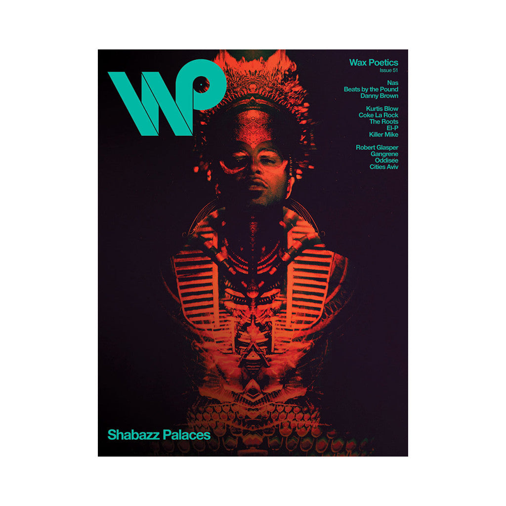 <!--120120605045324-->Wax Poetics - 'Issue 51 (MASTER P/ SHABAZZ PALACES COVER)' [Magazine]