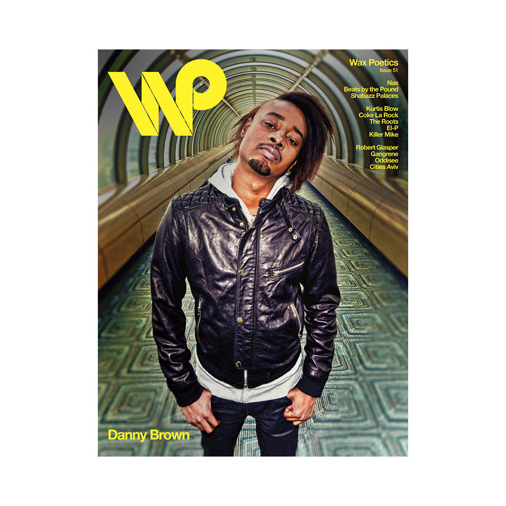 <!--120120605045323-->Wax Poetics - 'Issue 51 (NAS/ DANNY BROWN COVER)' [Magazine]