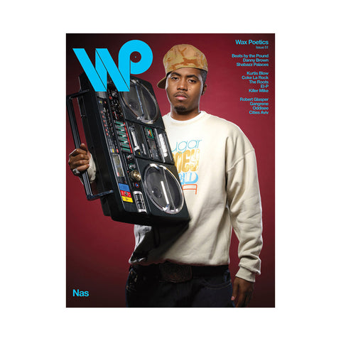 "[""Wax Poetics - 'Issue 51 (NAS/ DANNY BROWN COVER)' [Magazine]""]"