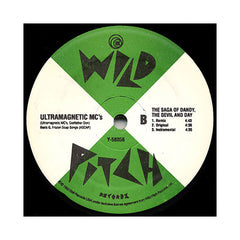 "<!--019930101013572-->Ultramagnetic MC's - 'Raise It Up/ Raise It Up (Remix)/ Saga Of Dandy, The Devil And Day (Remix)' [(Black) 12"" Vinyl Single]"