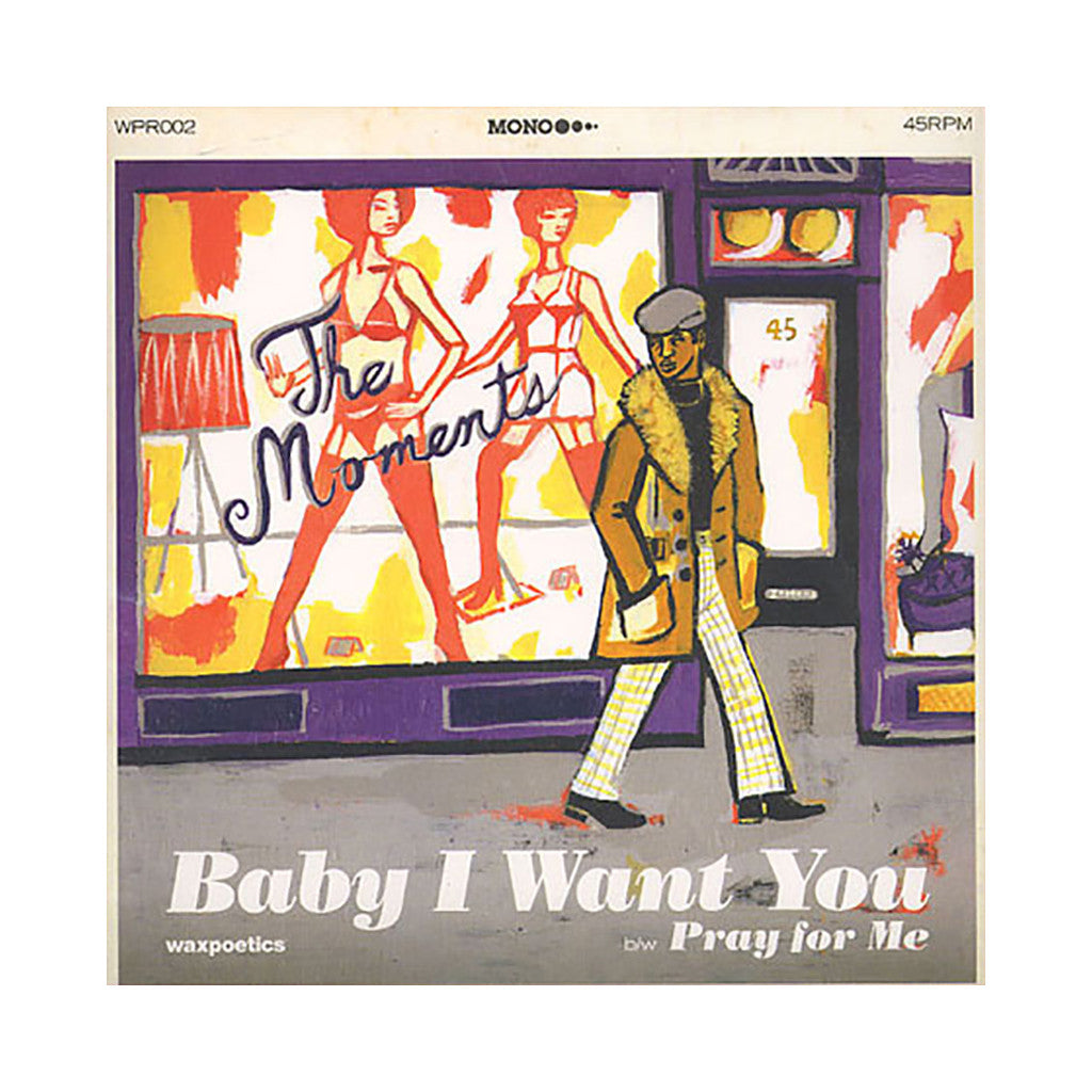 "<!--020080304013151-->Moments - 'Baby I Want You/ Pray For Me' [(Black) 7"" Vinyl Single]"