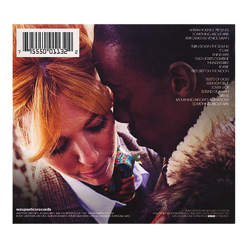 <!--2011112914-->Adrian Younge Presents Venice Dawn - 'Something About April' [CD]