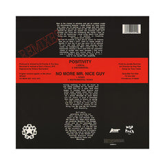 "<!--120010101003319-->Gang Starr - 'Positivity/ No More Mr. Nice Guy (Remix)' [(Black) 12"" Vinyl Single]"