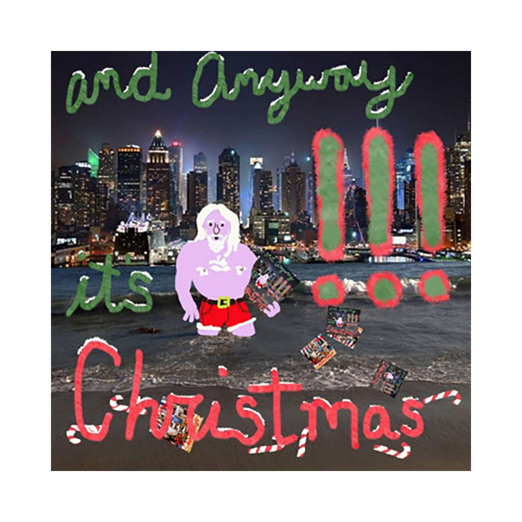 "!!! - 'And Anyway It's Christmas' [(Black) 7"" Vinyl Single]"