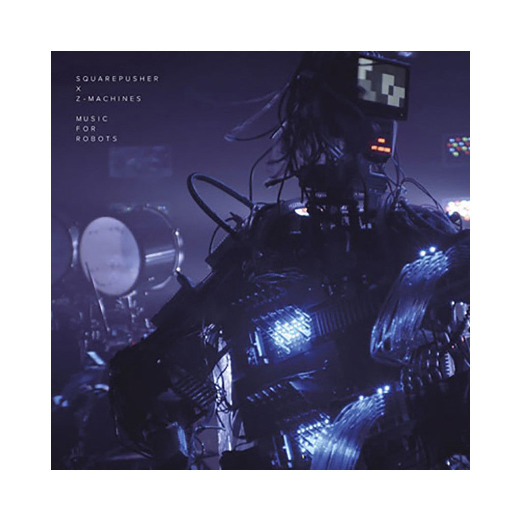 <!--120140520062691-->Squarepusher x Z-Machines - 'Music For Robots EP' [(Clear Blue) Vinyl EP]