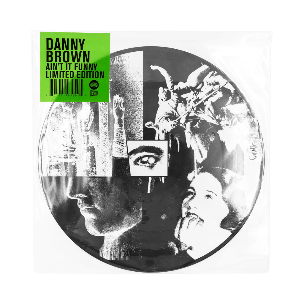 "Danny Brown - 'Ain't It Funny' [(Picture Disc) 10"" Vinyl Single]"