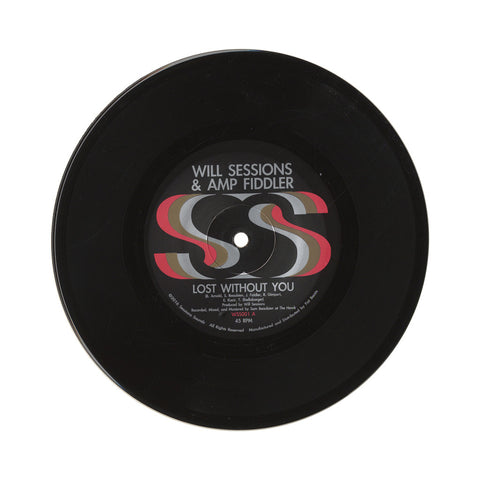 "Will Sessions & Amp Fiddler - 'Lost Without You/ Seven Mile' [(Black) 7"""" Vinyl Single]"