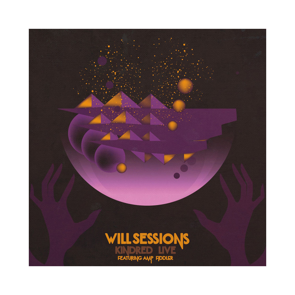 Will Sessions & Amp Fiddler - 'Kindred Live' [(Gold) Vinyl LP]