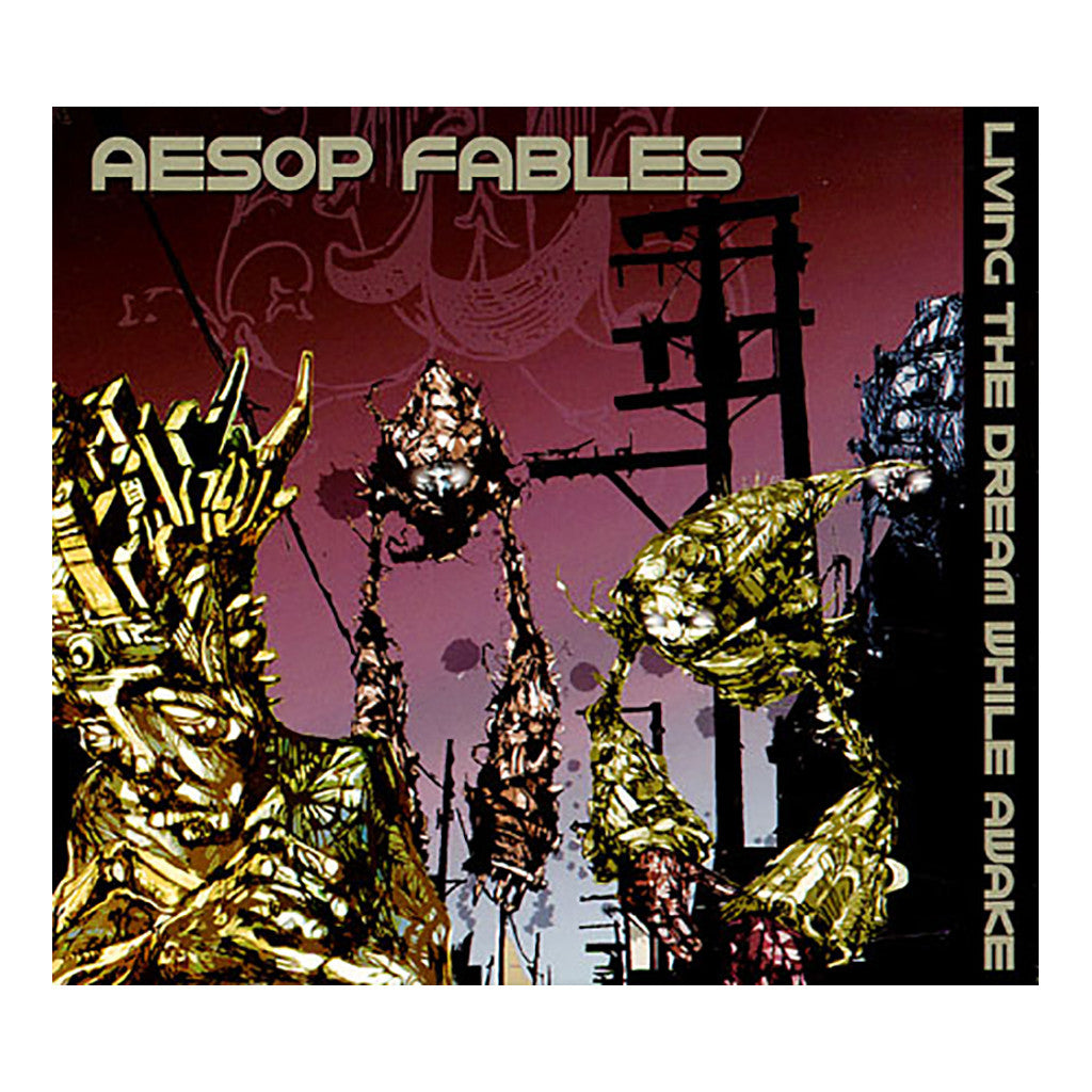 Aesop Fables - 'Living The Dream While Awake' [CD]
