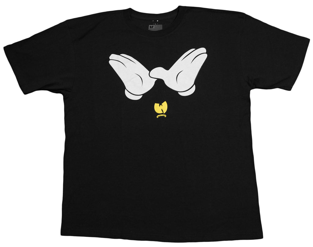 <!--2011112242-->Wu-Tang Brand LTD - 'W Hands' [(Black) T-Shirt]