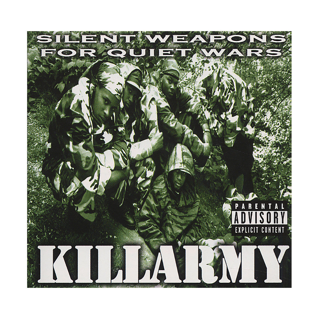 Killarmy - 'Silent Weapons For Quiet Wars' [CD]