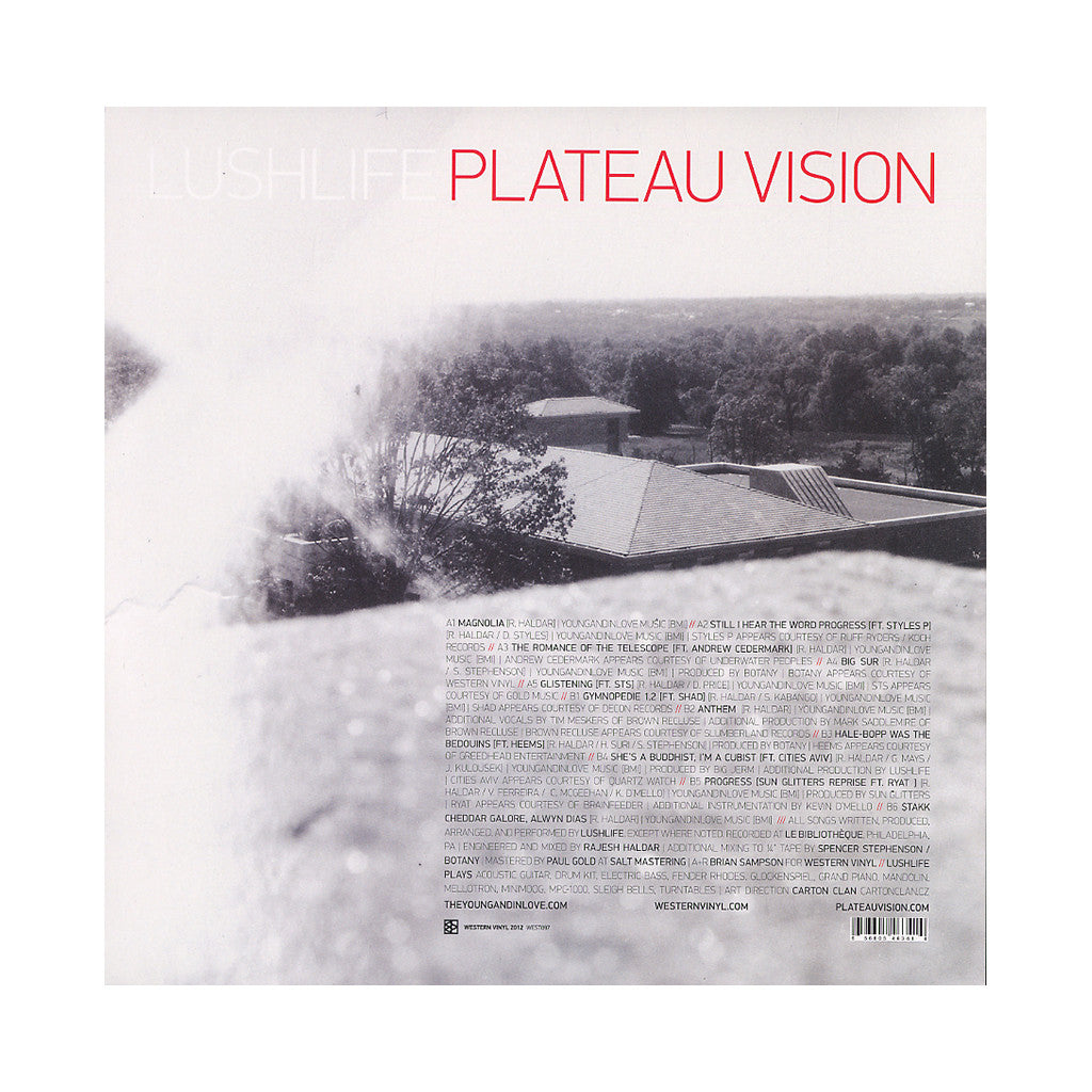 <!--120120417042074-->Lushlife - 'Plateau Vision' [(Black) Vinyl LP]