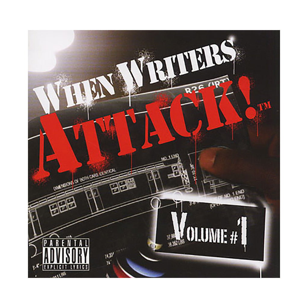 Various Artists - 'When Writers Attack! Vol. 1 (Original Soundtrack)' [CD]