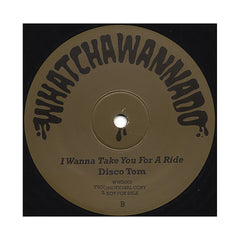 "Disco Tom - 'Goldie's Boogie/ I Wanna Take You For A Ride' [(Black) 12"" Vinyl Single]"