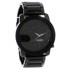 <!--020121002050103-->FLuD Watches - 'The Exchange - Black Wood' [(Black) Watch]