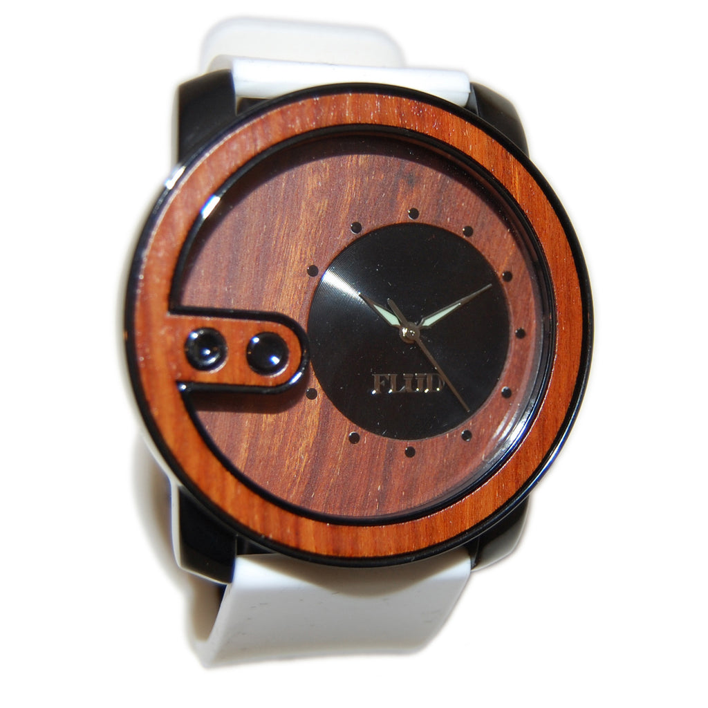 <!--020121002050100-->FLuD Watches - 'The Exchange - Redwood' [(Black) Watch]