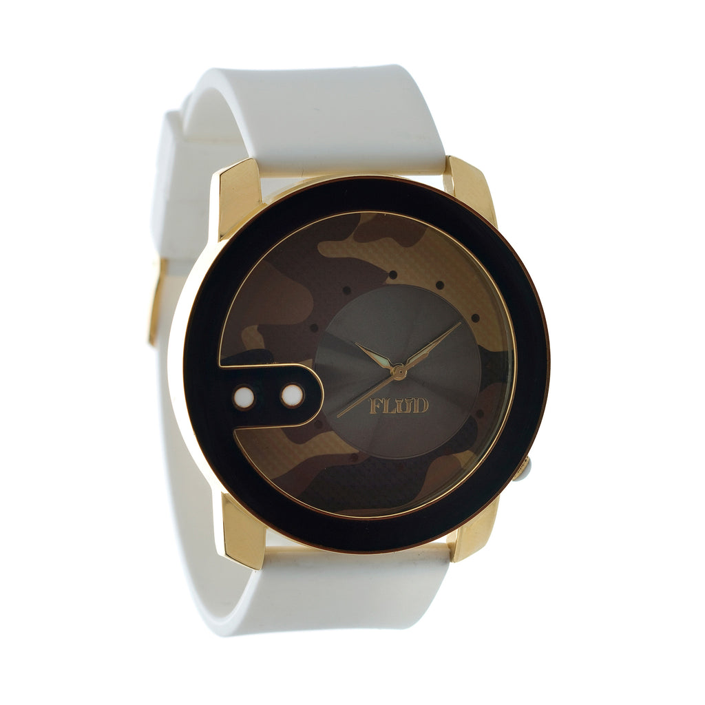 <!--2012100246-->FLuD Watches - 'The Exchange - Desert Army' [(Camo Pattern) Watch]