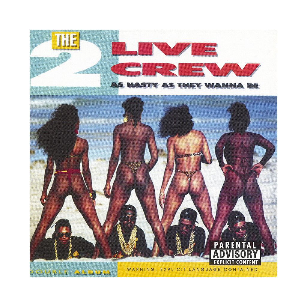 <!--019890101005149-->2 Live Crew - 'As Nasty As They Wanna Be' [(Black) Vinyl [2LP]]