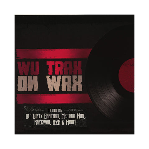 Various Artists - 'Wu Trax On Wax' [CD]