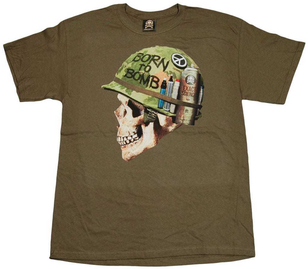 <!--2011070540-->Exact Science - 'Born To Bomb' [(Dark Green) T-Shirt]