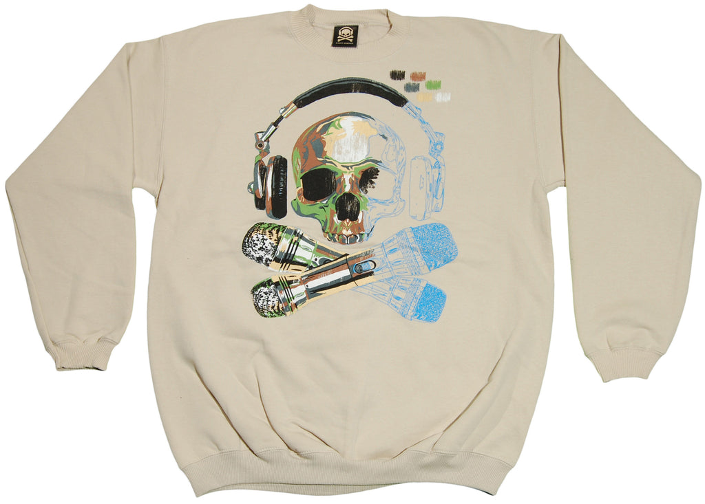 <!--2011070527-->Exact Science - 'Paint By Numbers' [(Light Brown) Crewneck Sweatshirt]