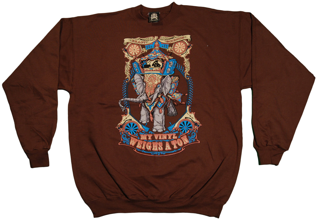 Exact Science - 'My Vinyl' [(Brown) Crewneck Sweatshirt]