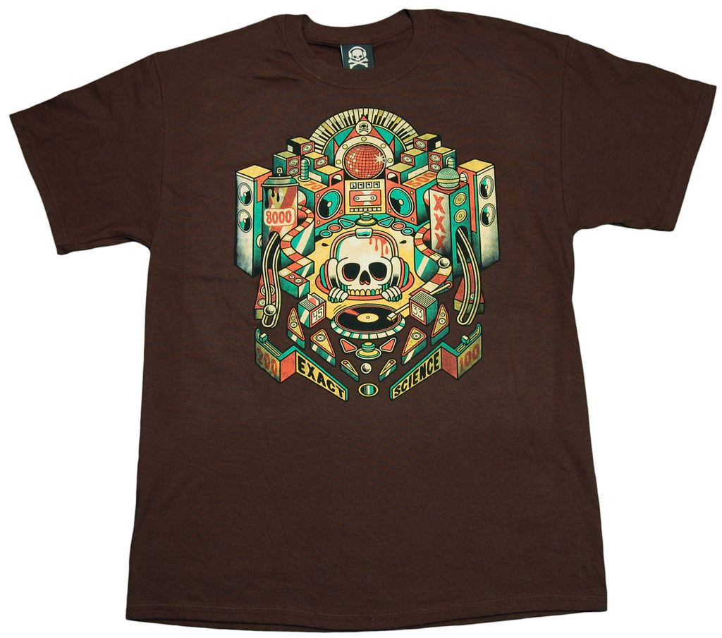 <!--2011121311-->Exact Science - 'Pinball' [(Brown) T-Shirt]