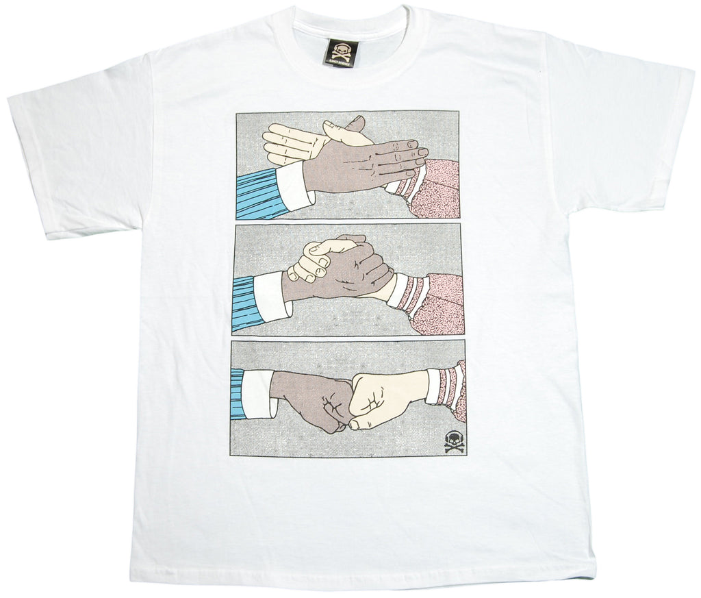 <!--2011121333-->Exact Science - 'Shake' [(White) T-Shirt]
