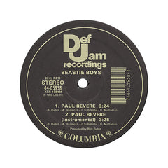 "<!--1986010102-->Beastie Boys - 'Paul Revere/ The New Style' [(Black) 12"" Vinyl Single]"