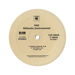Nas - 'Stillmatic (Instrumentals)' [(Black) Vinyl [2LP]]
