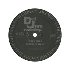 "<!--019880101011582-->Slick Rick - 'Children's Story/ Children's Story (Remix)/ Teacher, Teacher' [(Black) 12"" Vinyl Single]"