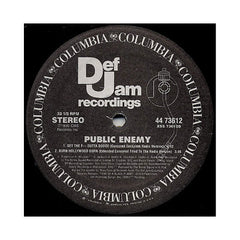 "<!--019900101013589-->Public Enemy - 'Can't Do Nuttin' For Ya Man/ Get The Fuck Outta Dodge/ Burn Hollywood Burn' [(Black) 12"" Vinyl Single]"