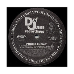 "Public Enemy - 'Can't Do Nuttin' For Ya Man/ Get The Fuck Outta Dodge/ Burn Hollywood Burn' [(Black) 12"" Vinyl Single]"