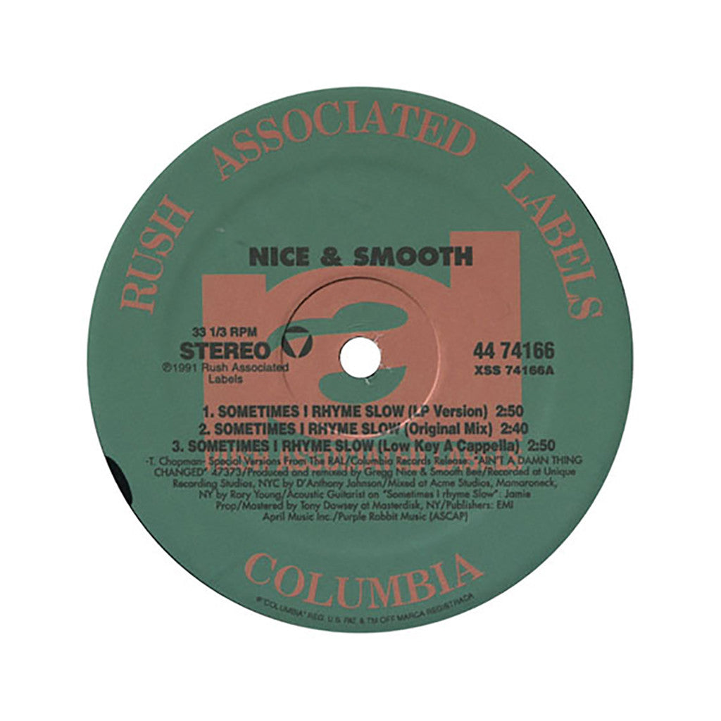 <!--1998050721-->Nice & Smooth - 'Sometimes I Rhyme Slow' [Streaming Audio]