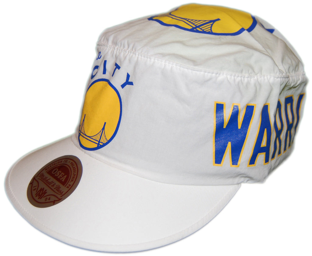 <!--020130305054279-->Mitchell & Ness x NBA - 'San Francisco Warriors - HWC Painter's Cap' [(White) Painter Hat]