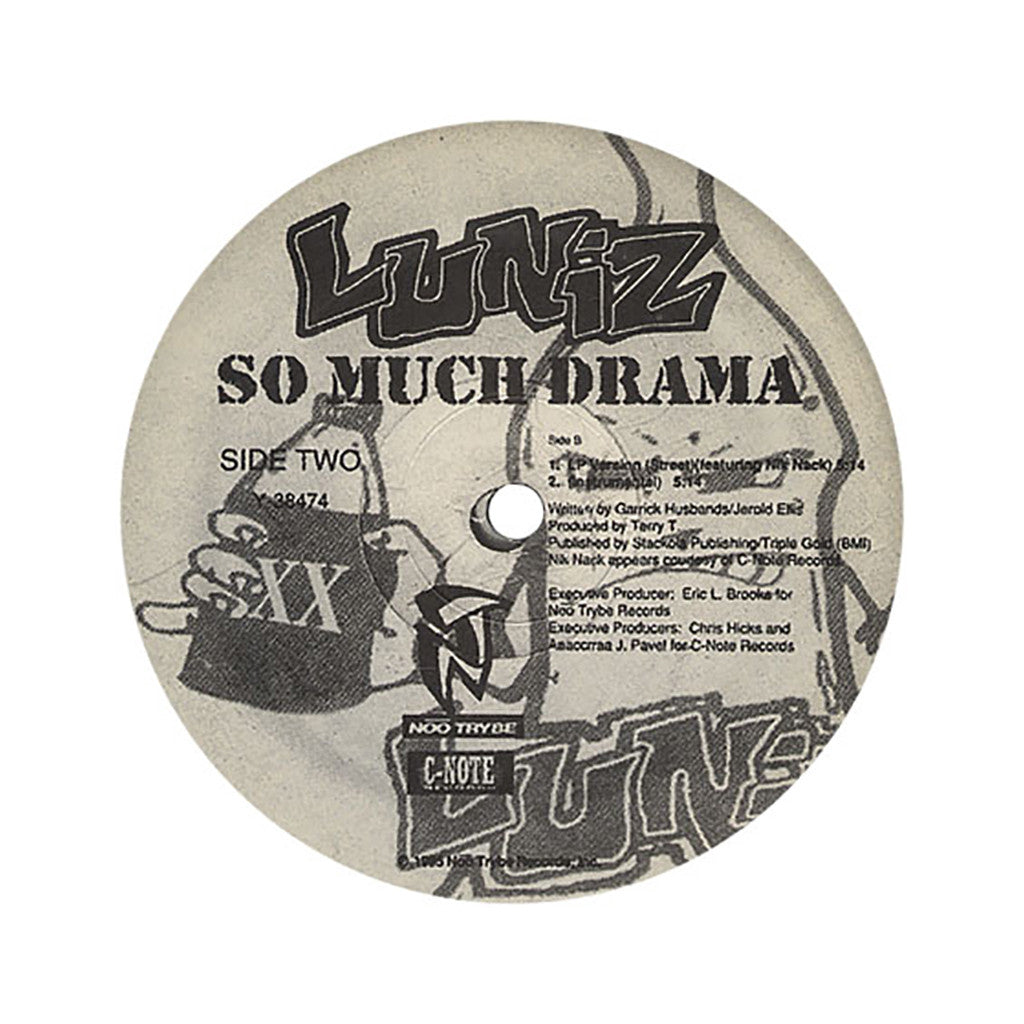 "<!--1995010136-->Luniz - 'I Got 5 On It/ So Much Drama' [(Black) 12"" Vinyl Single]"