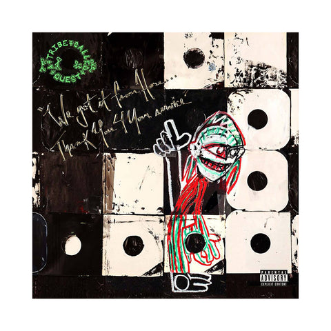 A Tribe Called Quest - 'We Got It From Here.. Thank You 4 Your Service' [(Black) Vinyl LP]
