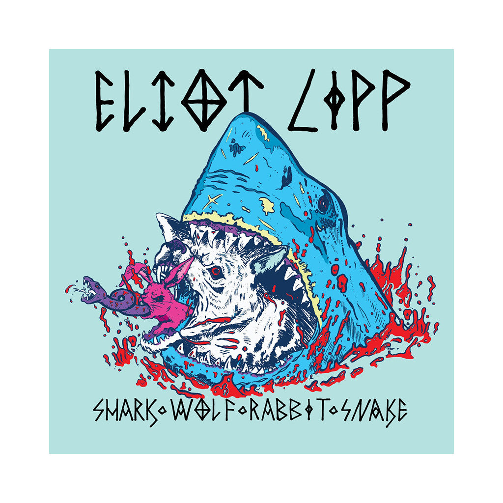 Eliot Lipp - 'Shark Wolf Rabbit Snake' [(Black) Vinyl LP]