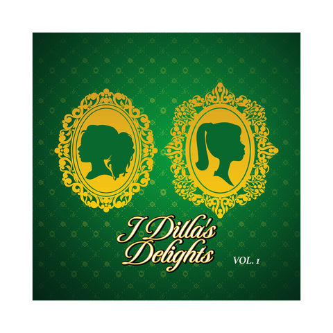 "[""J Dilla - 'J Dilla's Delights Vol. 1' [(Green) Vinyl LP]""]"