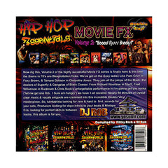 DJ Rob & Filthy Rich - 'Hip Hop Essentials: Movie FX Vol. 2 (Baadasssss Breaks!)' [(Black) Vinyl [2LP]]