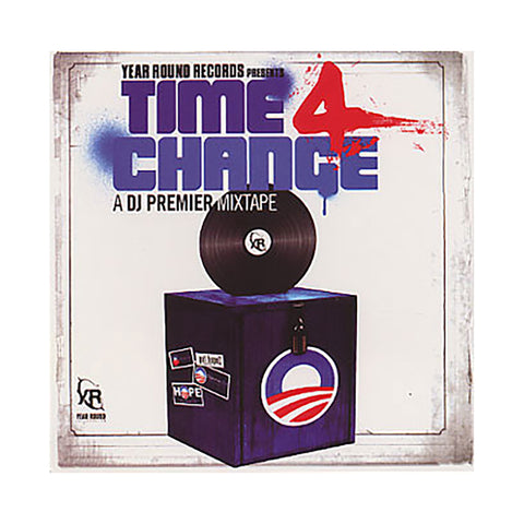 "[""DJ Premier - 'Time 4 Change' [CD]""]"