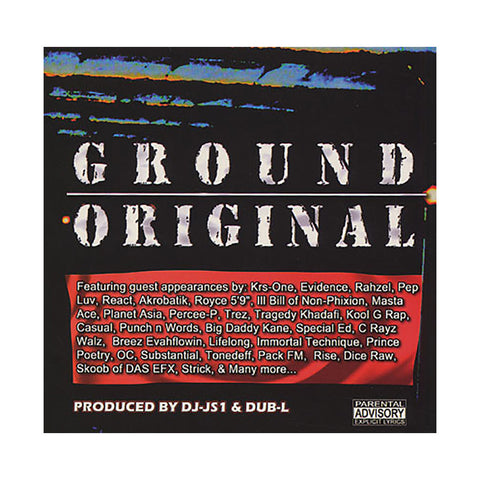 DJ JS-1 - 'Ground Original' [(Black) Vinyl [2LP]]